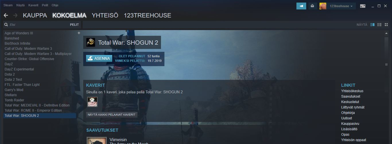 Steam account with 13 games, Counter Strike, No bans, No offenses