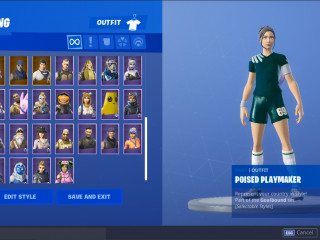 Fortnite Account ( Ikonik,Galaxy,S3-S10 ALL BATTLE PASS SKINS,S1-S10 ALL VICTORY GLIDERS,OG ACC,STW)