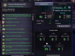 (EU) Blade and Soul Full TT KFM 1800 AP ( ET ready ) Premium Active / Unity Rank 78 with 3 Alts