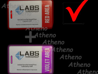 IDEAL COMBO Red Keycard +Violet Keycard + Lab. Manager office key BONUS