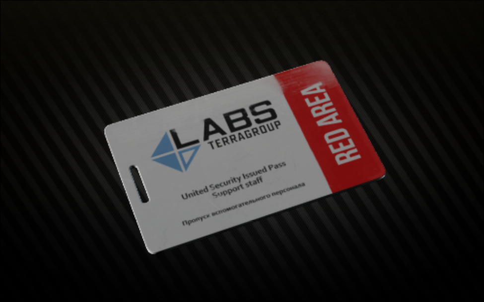 Lab. Red Keycard  + Lab. key. Manager office key bonus