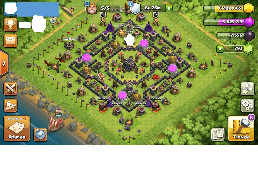Clash of Clans account TH 9- Supercell ID