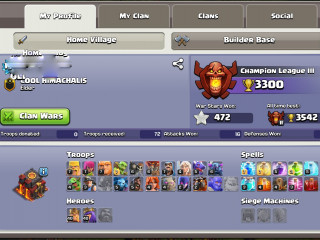 Max TH10 Base With 10k Gems BK-40 AQ-40