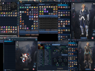 Blade Master 20 HM 1557 AP  + GOLD + MATS (Poharan Pet) + Alts, JINSOYUN [EU] (using middleman)