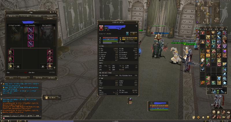 Tyrr duelist 105/100 with Clan lv.11 + Clan Hall + L2 classic server TI lv.50 Gladiator