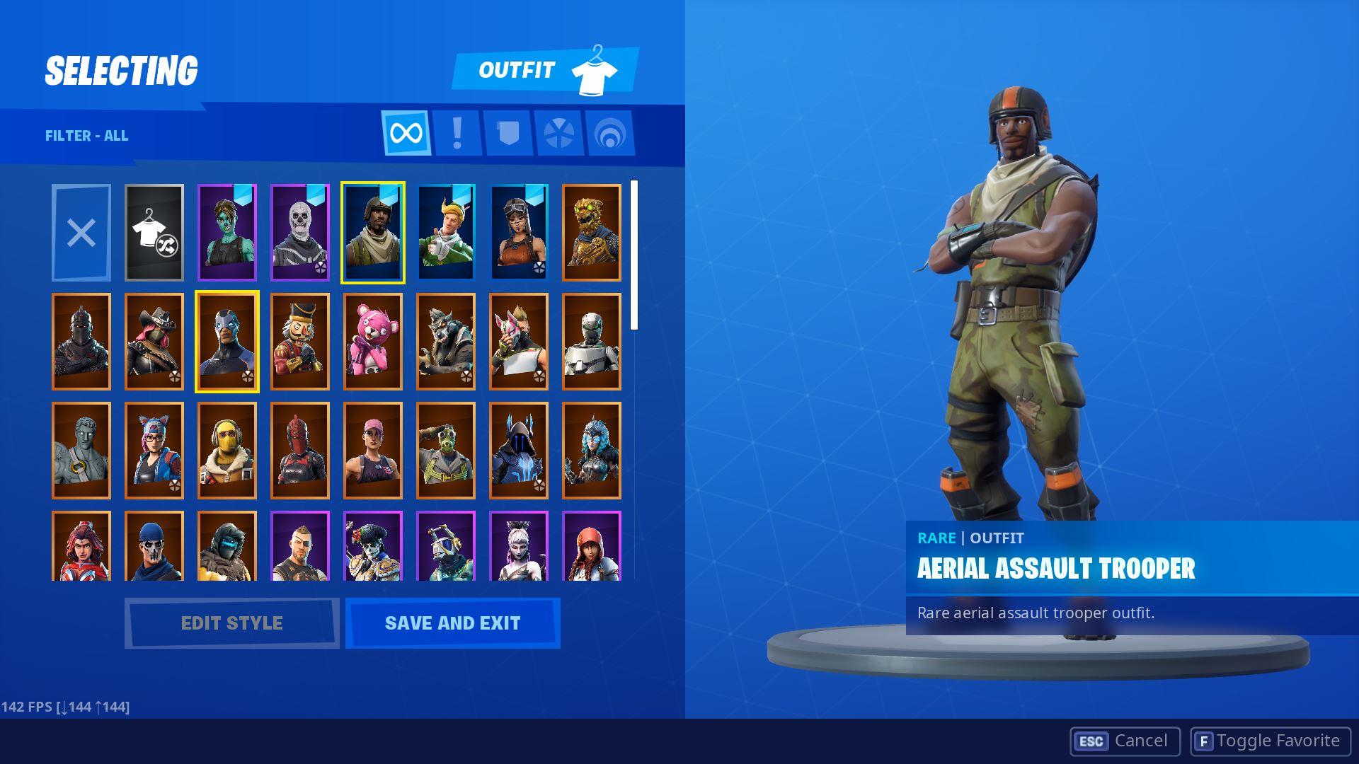 buy ghoul trooper account