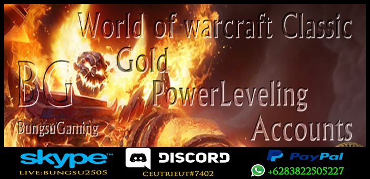 WoW classic Gold - Powerlvling - Account - Boosting PvP Rank***