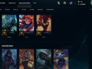 SELLING [EUW] LEAGUE ACCOUNT WITH 476 SKINS(INCLUDING PAX SKINS AND ORIGINAL CHAMPIONSHIP RIVEN)