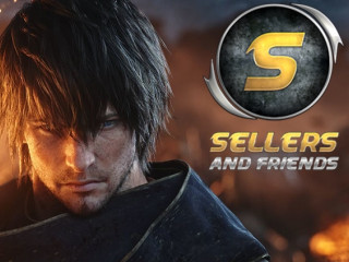 WTS FFXIV Gil - Final Fantasy 14 Gil - Big Stock - Trusted User - www.sellersandfriends.com