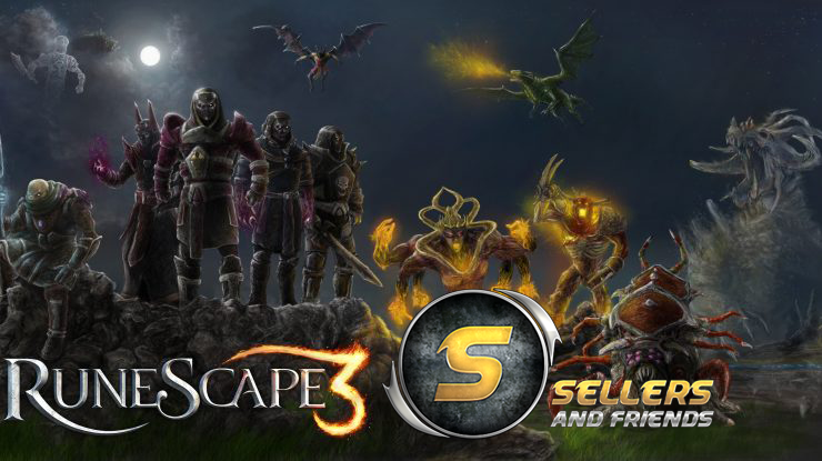 Runescape 3 Gold Coins - Trusted Seller - Buy now, big stock! - www.sellersandfriends.com