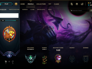 EUW plat 4 Account || 55 Champs|| 19 Skins || S9 Diamond|| Email Changeable