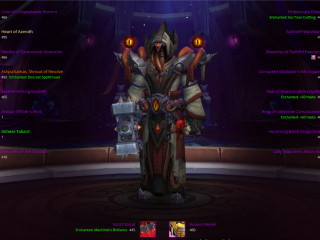 [EU] Elite set priest 468ilvl - Flying - most essences rank 3