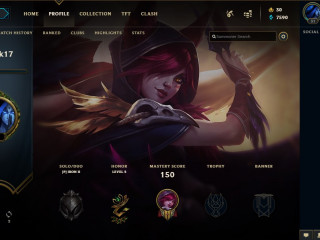 League of legends Accounts | Smurf | Eu West | From 1-30 skins | from 15-30 champions