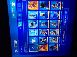 FN|PS4|Lvl 1147|ORIGINAL OWNER|116 BLING|72 PICKAXES|126 EMOTES|125 GLIDERS|121 OUTFITS |400 VBUCKS