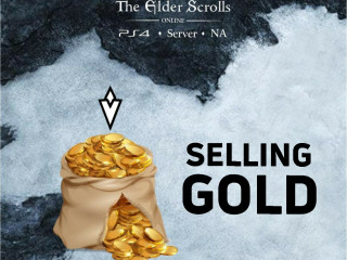 BUY AND SELL GOLD ON ESO PS4 FOR SERVER: NA. FAST TRADE!