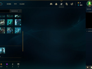 p1 75lp 66%wr 27champs 0 skins fresh acc full access
