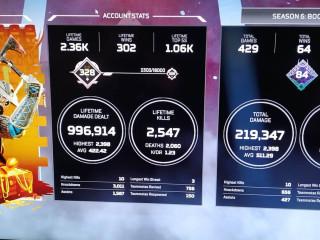 (PC)Lv.328 Platinum V, Bloodhound Heirloom with PUBG & GTA V as bonuses.