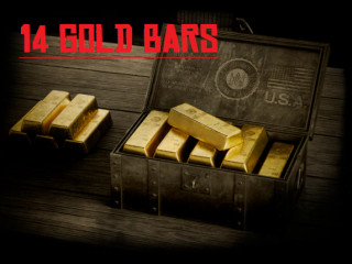 14Gold bar 1.9$ (Not login share) / 100 Gold bar 12$ (Login share)