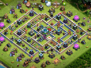Clash of Clans Google Play-Th13/Level 216/Heroes(BK65/AQ75/GW50/RCH20) / Nice