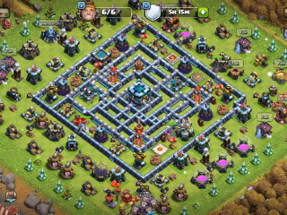 Clash of Clans SC ID-max/Th13////Level 229////Heroes(BK72/AQ75/GW48/RCH20)////max