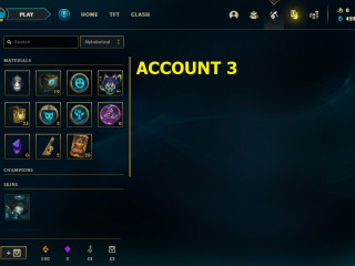 6 NA ACCOUNTS HAND LEVELED ( LVL 12 - 15 ) WITH AMAZING IAC LOOT 15 $ PAYPAL each