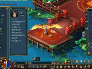 Treasure Land> New World. Good Warrior acc, +12 wings full 1 soc +7, garments, mounts etc..