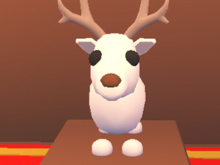 Arctic Reindeer (Adopt Me Pet) (Flyable) PAYPAL ONLY