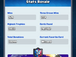 Clash Royale account with Supercell ID