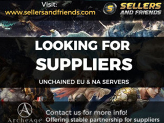 WTB AA Unchained Gold - NA & EU servers - Instant payment on Paypal - Sellersandfriends.com