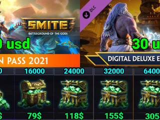 SALE! CHEAP SMITE GEMS PC, SWITCH AND XBOX! AFFORDABLE FOR ANYONE!