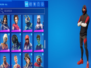 FORTNITE ACCOUNT FOR $1640.49!!!! (SEE DESCRIPTION FOR DETAILS) FREE LLAMA PLUSH WITH PURCHASE!!