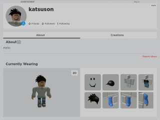 Sell roblox Account