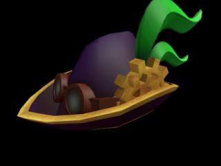 roblox account with purple steampunk robin hood #5350, sleepy elder god, and lightning raven hood