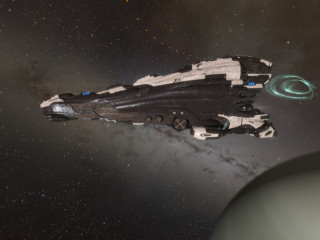 Erebus - Federal Police Issue Skin - EVE Online Titan