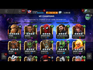 Marvel contest of champions Account sale